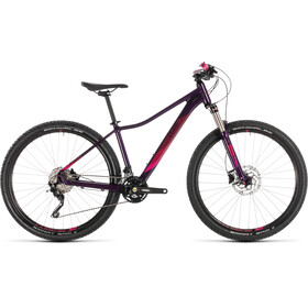 Cube Access WS Race MTB Hardtail Women red/purple